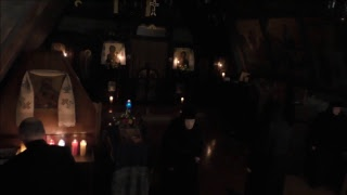 Vespers and Compline for Righteous Simeon and Prophetess Anna
