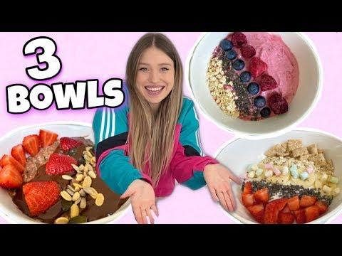 Meine 3 Lieblings - Bowl Rezepte 😍 | Bibi