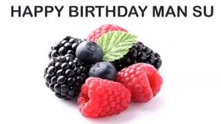 ManSu   Fruits & Frutas - Happy Birthday
