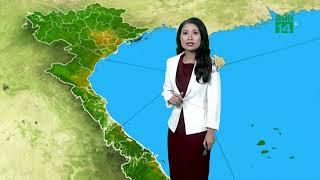 Thời tiết tổng hợp 19h 15/10/2018:Thanh Hóa và phía bắc của Nghệ An có mưa rào và dông rải rác|VTC14