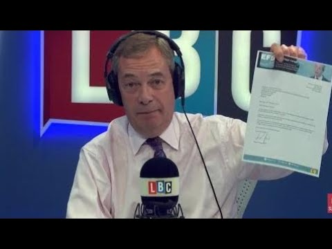 The Nigel Farage Show: Do you trust Trump is worried in Russia collusion? LBC - thirtieth October 2