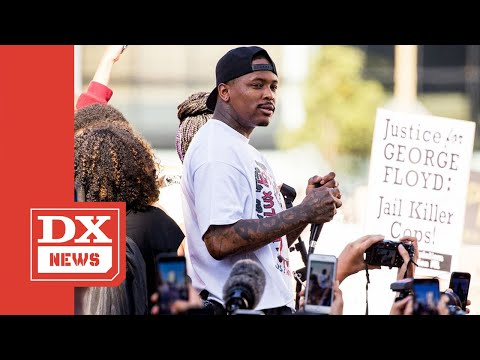 YG Fires Back At Anyone Criticizing His 'FTP' Video Shoot At L A  Protest