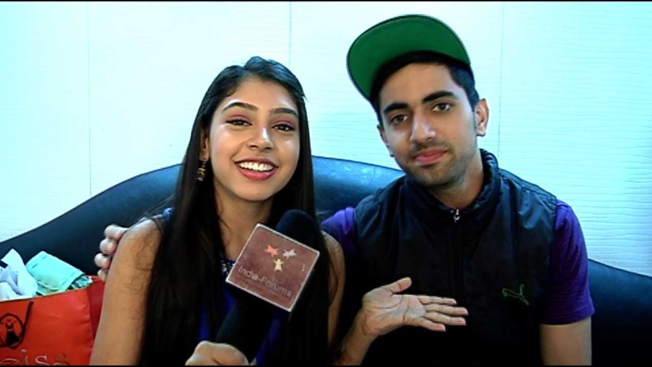 2017 05 parth samthaan family - Meet Niti Taylor S New Friend Zain On The Sets Of Kaisi Yeh Yaariyaan Youtube