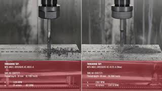 ISO K Threading Taps Comparison in Cast Iron | Seco Tools
