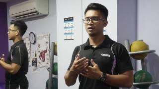 Fitness Trainer, Mr Nafiis Syukri -  MFAG Client's Testimonial