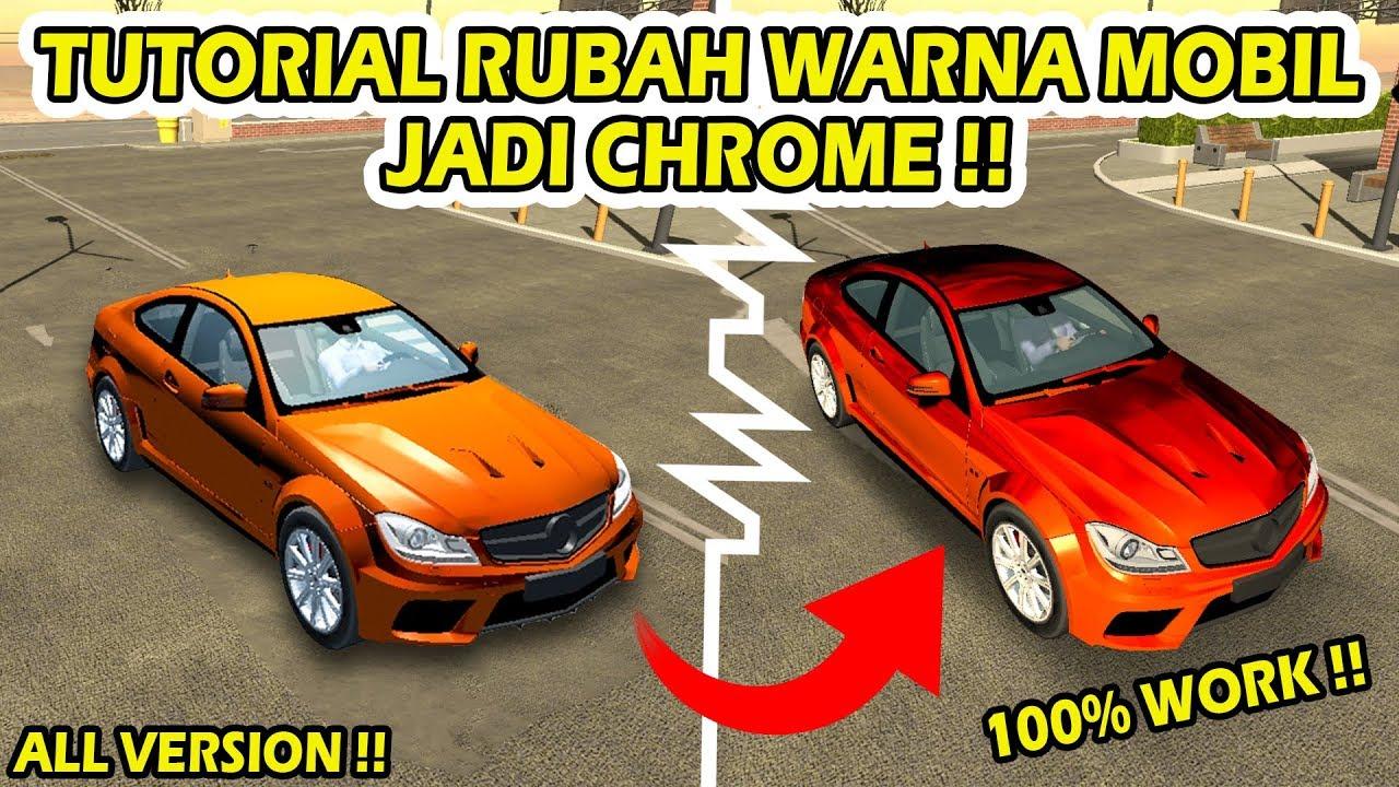 Cara Merubah Warna Mobil Jadi Chrome 4 6 5 Car Parking Multiplayer Indonesia Youtube