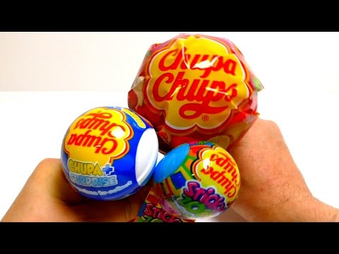 Chupa Chups Mini Mega Pop & Chupa Surprise Ball & Sticky Zoo