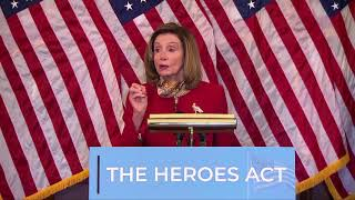 Pelosi says politics don't belong in COVID-19 vaccine research