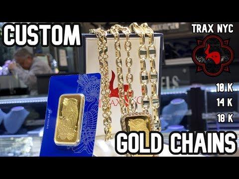 Ordering CUSTOM GOLD CHAIN