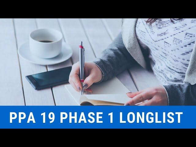 PPA '19: Phase 1 Longlist (Set A)
