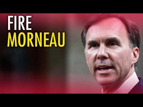 Trudeau's Finance Minister must go! Send a message: FireMorneau.com
