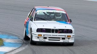 BMW M3 Linder & 2 M3 E30 Going Flat Out