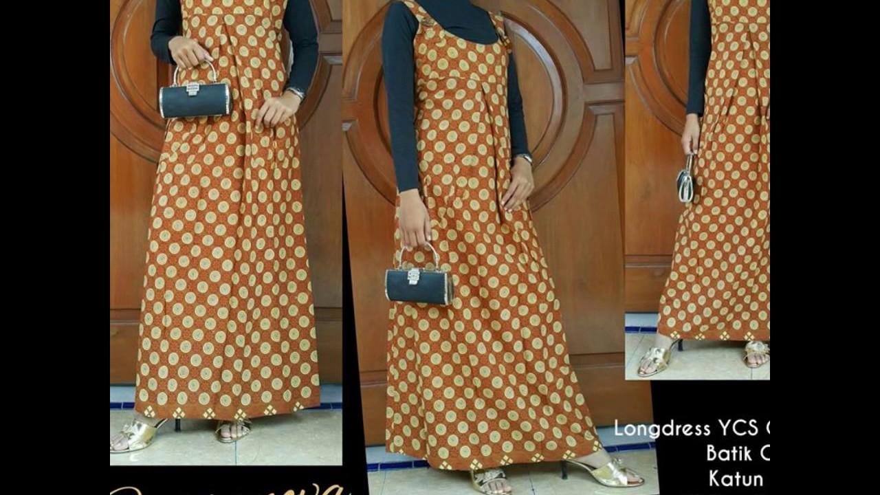 Wa 0812 2533 6662 Gamis Batik Songket Gamis Batik Sutra Youtube