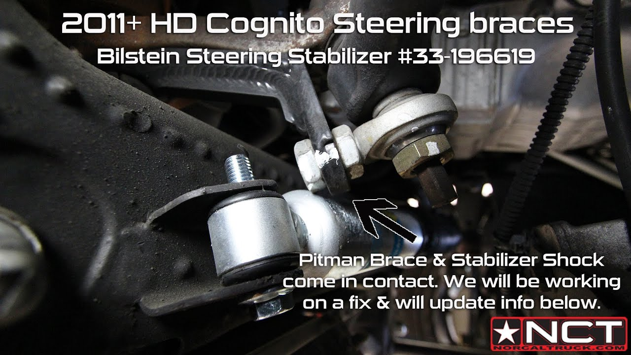 Bilstein 33-196619 Stabilizer w/CMS PISK3008 Brace / 2011 ...