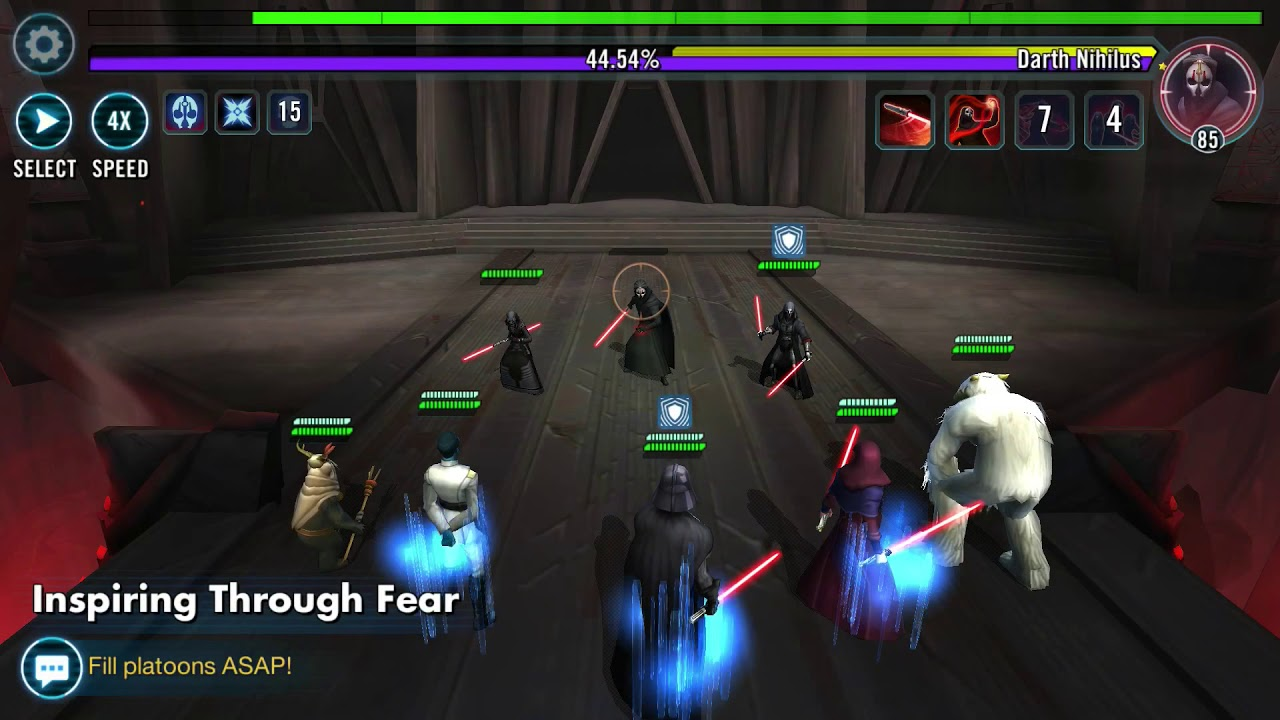 SWGOH 3 3 Million P1 Sith RAID (T6) - NO JTR - Most Popular Videos