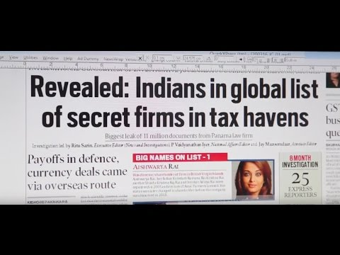 Panama Papers: A Peek Into India Express' 8 Month Long Investigation
