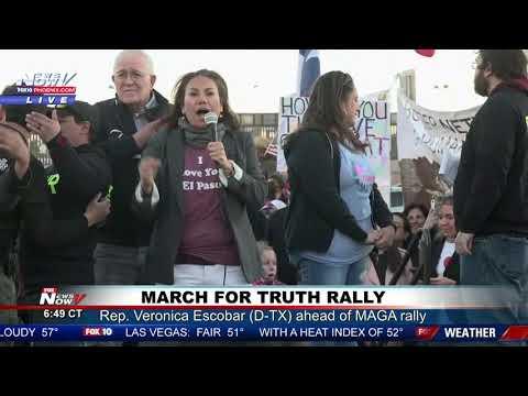 MARCH FOR TRUTH RALLY: Rep. Escobar, Former Rep. Beto O'Rourke Speak in El Paso, Texas Mp3