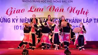Múa mùa ngô THPT Bắc Sơn Giao lưu văn nghệ , mừng kỷ niêm 60 năm ngày thành lập trường