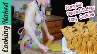 Pumpkin Peanut Butter Dog Cookies Recipe Preview | How To Make Halloween