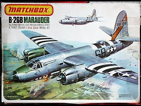 "AlexModelling ""OUTBOX REVIEW of the MATCHBOX 1/72 B-26B MARAUDER"""