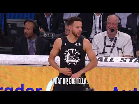 As the NBA All Star game is coming up this weekend, I'd like to show you all the best highlight from last year's All Star Game