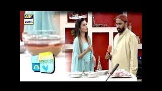 Aaj Morning Show Main Javed Nihari Ne Apni Recipe Mutarif Karwa Di