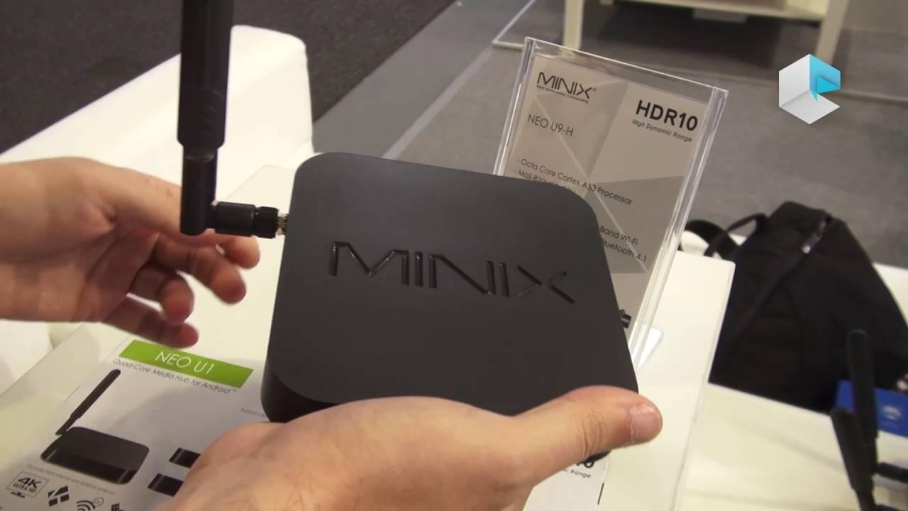 MINIX NEO U9-H: MINI PC WITH AMLOGIC S912-H 4K VIDEO (HDR
