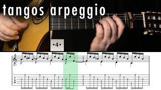 Flamenco Guitar 102 - 11 Tangos Arpeggio