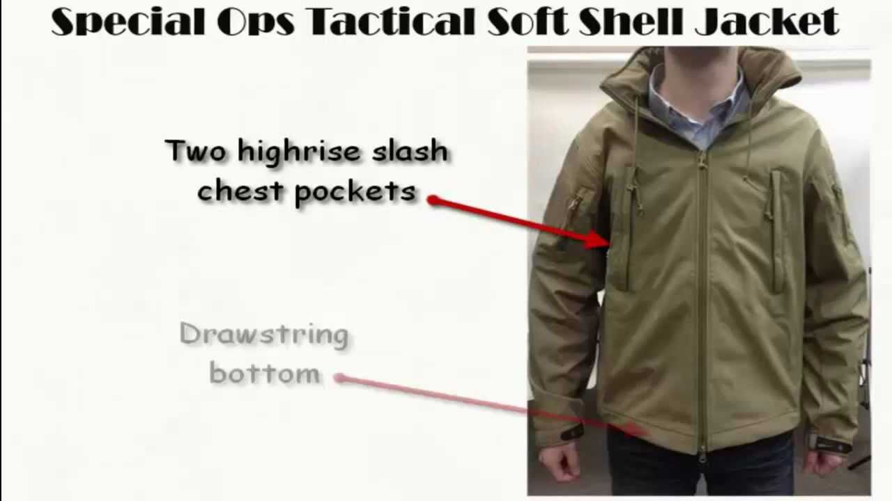 62f80746a Rothco's Special Ops Tactical Soft Shell Jacket