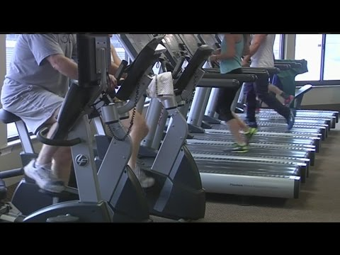 Gyms start to get very crowded after New Year's