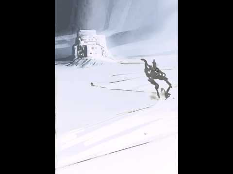 23 min speed painted snow landscape in photoshop