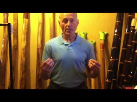 Basic didgeridoo instructional video # 3 Mouth massage and warmup for playing