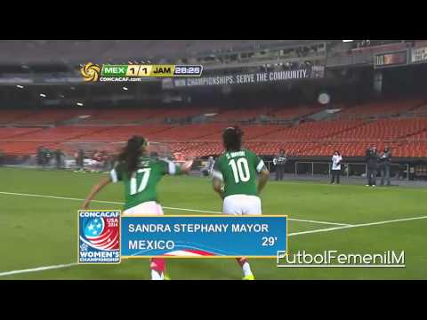 México Vs Jamaica Premundial Femenil USA 2014