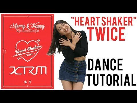 Twice 트와이스 Heart Shaker 하트쉐이커 MIRRORED Dance Tutorial 댄스 튜토리얼 [XTRM Stanford K-pop] (Chorus)