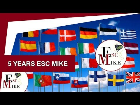 Top 20 countries subscribed in my channel! [5 years Esc Mike]