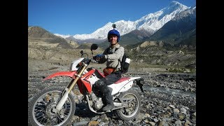 Мототур королевство Мустанг Гималаи Непал 2017  Фильм-30 мин