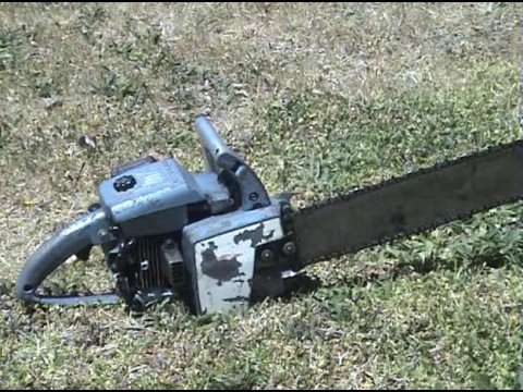 Old Homelite XL 12 Chainsaw