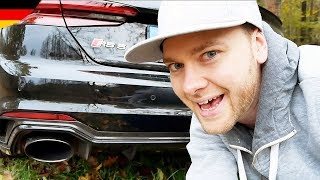 AUDI RS5 mit Sportabgasanlage. Wann geht die Klappe auf?