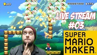 Surprise, Surprise! 100 Man And Twitter Levels! - Super Mario Maker - LIVE STREAM [#03]
