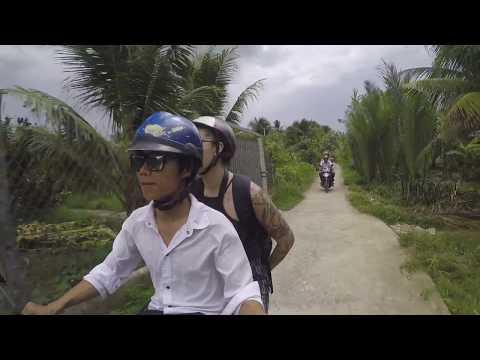 Exploring coconut kingdom in Ben Tre.