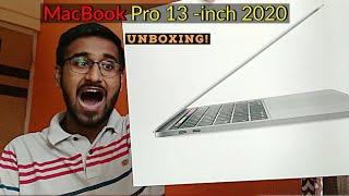 MacBook Pro 13 -inch 2020 Unboxing  2020 13- inch MacBook Pro  Indian Unit