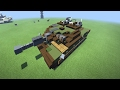 Minecraft Leopard 2A7 MBT Tutorial