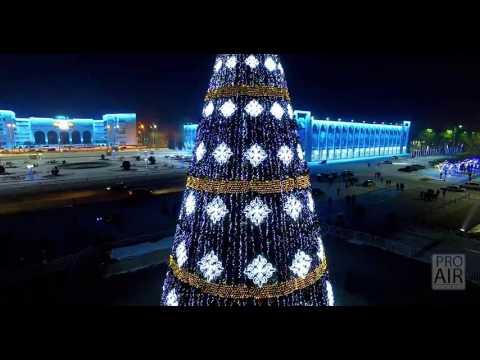 Новогодняя елка в Бишкеке -- ProAir Studio