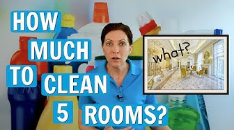 How Much to Clean 5 Rooms? Homeowners Price Shop House Cleaning