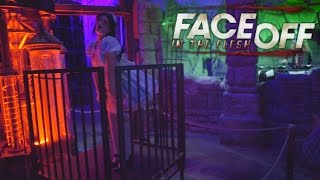Repeat youtube video Face Off: In the Flesh (COLOR!!) at Halloween Horror Nights 2014 Universal Studios Hollywood
