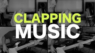 Clapping Music (minimalism on the bass guitar) [ AN's Bass Lessons #29 ]