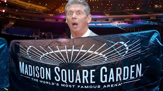 WWE News - Vince McMahon In Talks Over MSG & Starrcade Announced