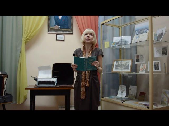 Изображение предпросмотра прочтения – ТюмероваВера Юрьевна читает произведение «Солнце-одно, а шагает по всем городам» М.И.Цветаевой
