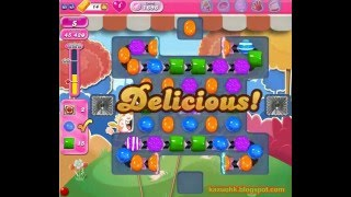 Candy Crush Saga - Level 1696 (No boosters)