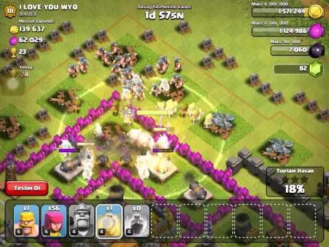 Clash Of Clans Saldırı Taktikleri 1⃣ Barbar-Okçu